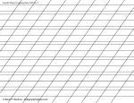 Guide Sheet Copperplate 0.25 in. x-height