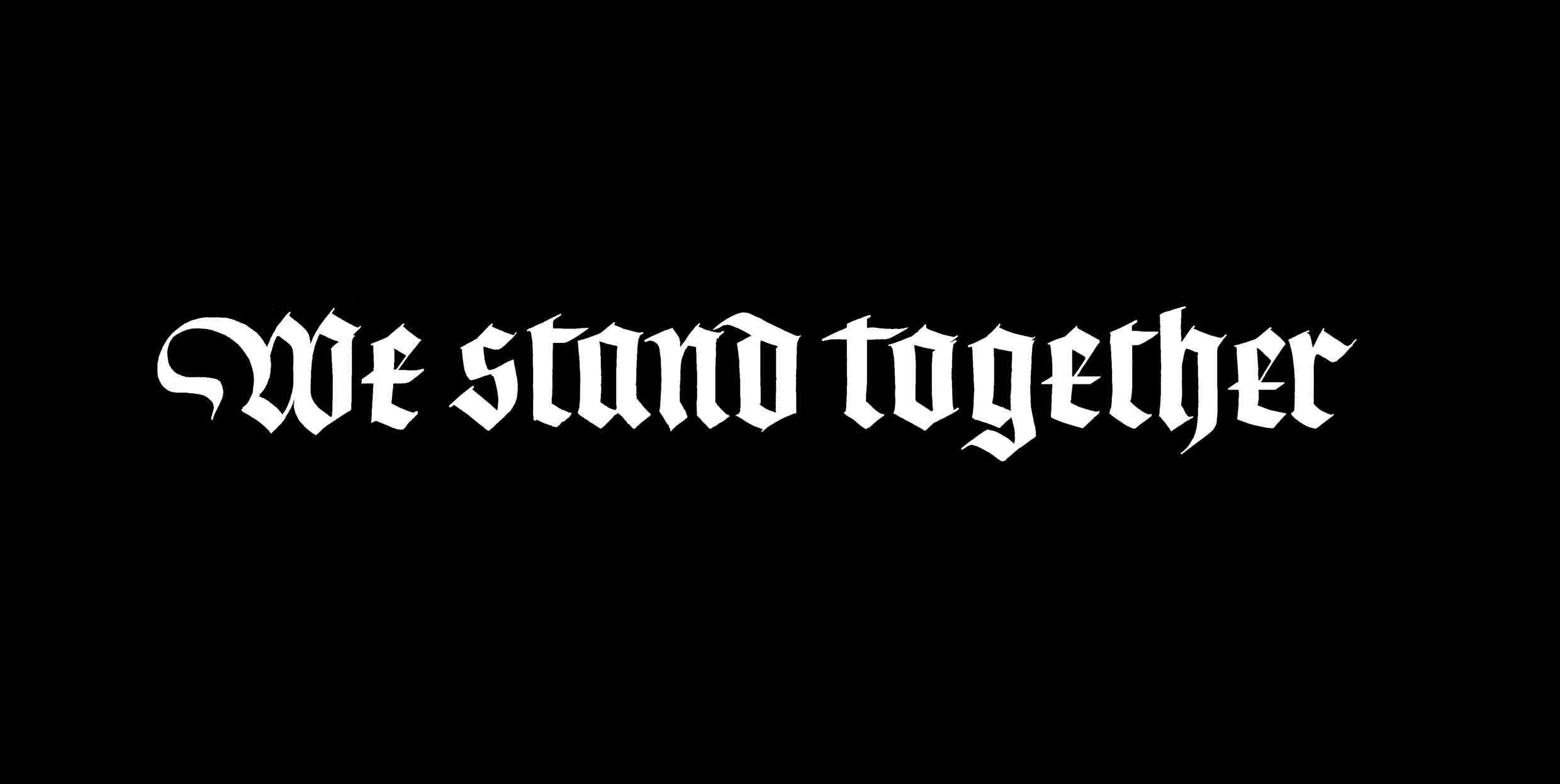 Image result for we stand