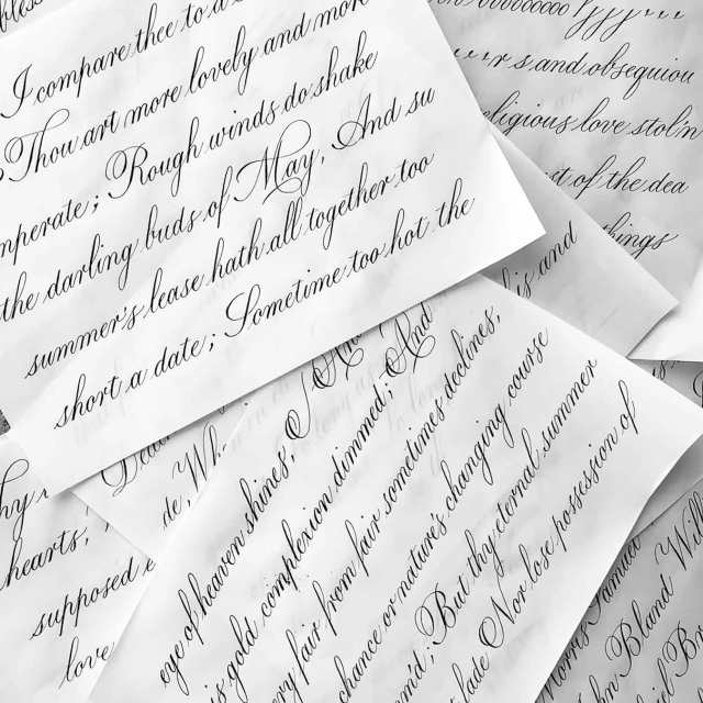 Copperplate pages